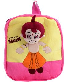 Chhota Bheem Backpack - Pink N Yellow