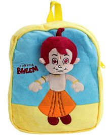 Chhota Bheem Backpack - Yellow N Blue