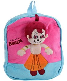 Chhota Bheem Backpack - Blue N Pink