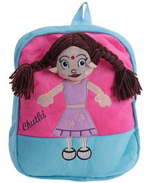 Dimpy Stuff Chutki Back Pack - Blue And Pink
