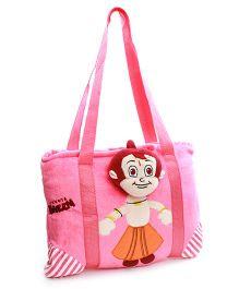 Chhota Bheem Pink Picnic Bag