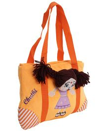 Dimpy Stuff Chutki Picnic Bag - Orange