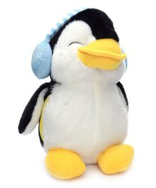 Dimpy Stuff Penguin with Blue Ear Muffs - 20 cm