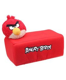 Angry Bird Tissue Holder Red