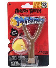Angry Birds Yellow Bird Mashems Power Launcher - 4 Years Plus