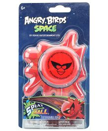 Angry Birds Space Red Bird Splat Ball - 6 Years Plus