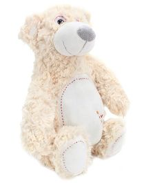 Play N Pets White Bear Soft Toy - 30 Cm