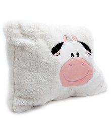 Play N Pets Cow Convertible Cushion Soft Toy - 40 Cm