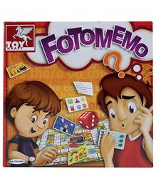 Toy Kraft Foto Memo Game - 5 Years Plus