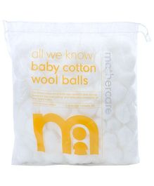 Mothercare All We Know Baby Cotton Wool Balls - 100 Pieces
