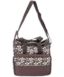 1st Step Diaper Bag - Chocolate Brown
