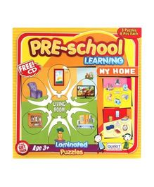 Puzzle - Pre-School Learning My Home