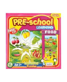 Puzzle - Pre-School Learning Food