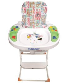 Sunbaby High Chair with Music - SB-26M