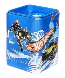 Hotwheels Print Square Box Sharpener