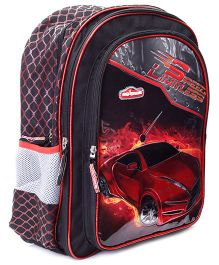 Majorette Speed Limitless Back Pack Red And Black - 18 Inches