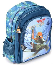 Disney Planes Back Pack Blue - 16 Inches
