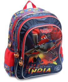 Disney Planes Explorer Backpack Blue And Red - 16 Inches