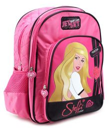 Steffi Love Pink Stylish Back Pack - 16 Inches