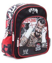 WWE Go To Sleep Print Backpack - 14 Inches