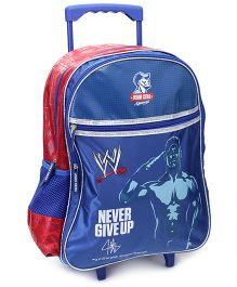 WWE Never Give Up Print Trolley Back Pack - 18 Inches