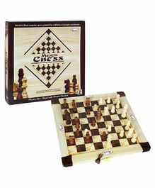 Annie Majestic Wooden Chess - 8 Years Plus