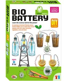 Ekta Bio Battery Do It Yourself Kit - Green