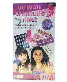 Ekta Shimmer N sparkle Nails Kit