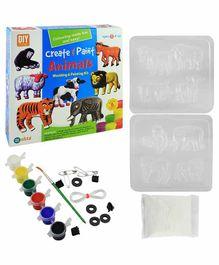 Ekta Create And Paint Animal Moulding Kit - 5 Years Plus