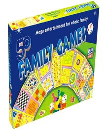 Ekta 50 Family Games - 5 Years Plus