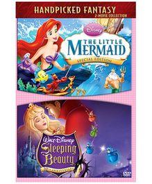 Disney Princess Handpicked Fantasy 2 Movie Collection DVD - English