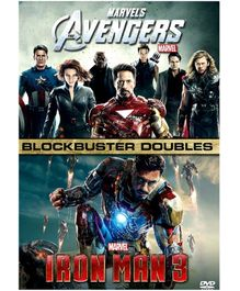 Marvel Avengers And Iron Man 3 English - DVD