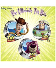 Disney Pixar The Ultimate Toy Box DVD - English