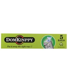 DOMKINPPY Biodegradable Disposable Bags - Pack of 5