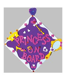 Imagi Make Car Sign Princess