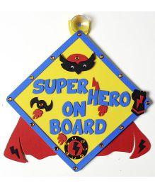 Imagi Make Car Sign Superhero