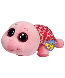 Ty Classic Myrtle Pink Turtle - 7 inch