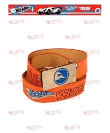 Hot Wheels PU Leather Belt - Orange