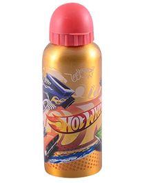 Hotwheels Sports Bottle - 450 ML
