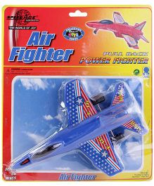Speedage Blue Air Fighter Pull Back Power Fighter - 3 Years Plus