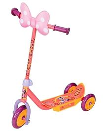 Disney Three Wheeler Scooter Minnie Pink