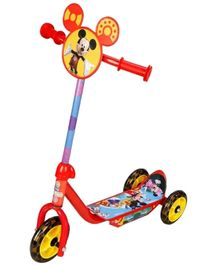 Disney Three Wheel Inline Scooter Mickey - Red