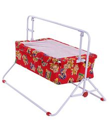 Mothertouch Wonder Cradle Cum Bassinet Bear Print