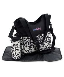 ReeBaby Diaper Bag Black