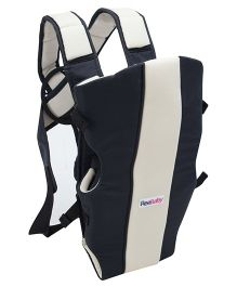 Reebaby 2 Way Baby Carrier - Black And Cream
