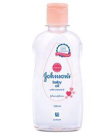 Johnson's baby Oil with Vitamin E - 100 ml