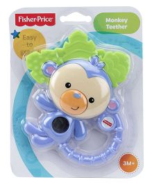 Fisher Price Monkey Teether - Blue