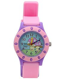 Q&Q Quartz Kids Analog Wrist Watch - Pink And Purple