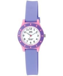 Q&Q Quartz Analog Wrist Watch Purple