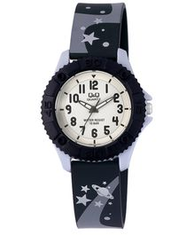 Q&Q Quartz Analog Wrist Watch Black